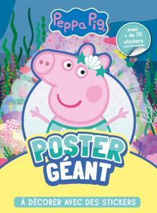Peppa Pig - Poster géant à décorer