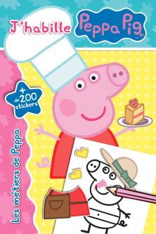 Peppa Pig - J'habille - Les métiers de Peppa