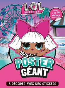 L.O.L. Surprise! - Poster géant à décorer