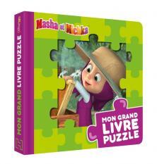Masha et Michka - Mon grand livre puzzle