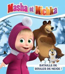 Masha et Michka - Bataille de boules de neige !