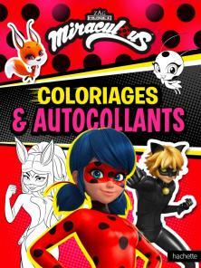 Miraculous-Coloriages et autocollants