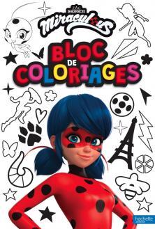 Miraculous - Bloc de coloriages