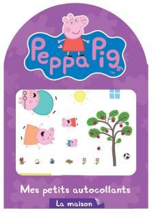 Peppa Pig / Mes petits autocollants - la maison