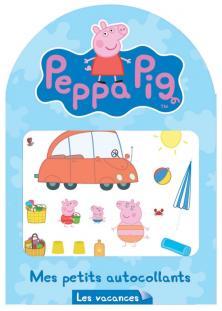 Peppa Pig / Mes petits autocollants - les vacances