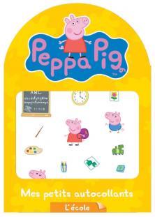 Peppa Pig / Mes petits autocollants - l'école