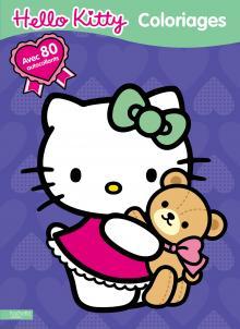 Coloriage irisé nº2 Hello Kitty