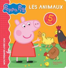Peppa Pig - livre son-Animaux