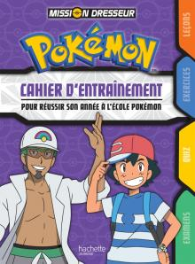 Pokemon - Cahier d'entraînement
