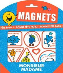 Monsieur Madame - Magnets - Bonne fête Papa