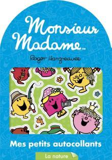 Monsieur Madame - Mes petits autocollants - La nature