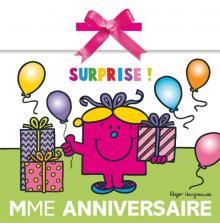 Pochette anniversaire Madame