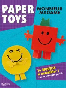 Monsieur Madame - Paper toys