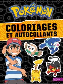 Pokemon - Coloriages et autocollants