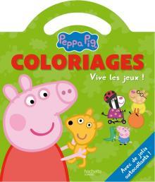 Peppa Pig / Coloriages poignée - Vive les jeux