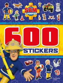 Sam le pompier - 600 stickers