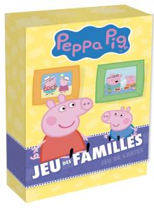 Peppa Pig - Boîte de cartes - Jeu des familles