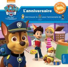 Paw Patrol-La Pat'Patrouille - Je lis avec un grand - L'anniversaire