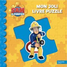 Sam le pompier - Mon joli livre puzzle NED