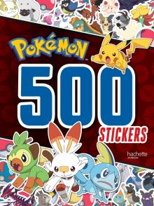Pokémon-500 stickers