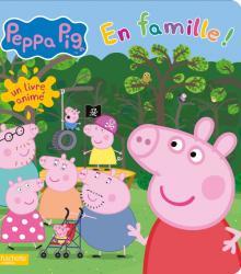 Peppa Pig - En famille ! - Livre animé