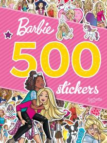 Barbie - 500 stickers