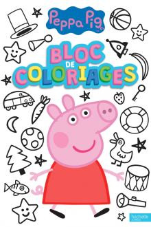 Peppa Pig - Bloc de coloriages
