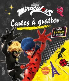 Miraculous - Cartes à gratter