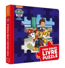 Pat' Patrouille-Mon grand livre puzzle
