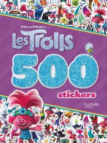 Trolls - 500 stickers