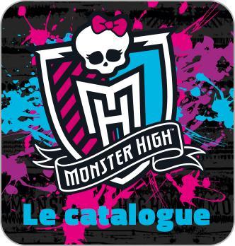 Catalogue Monster High