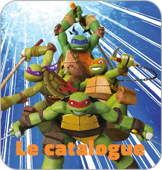 Catalogue Tortues Ninja