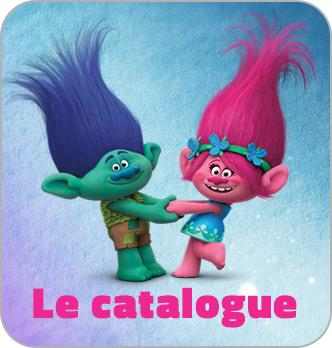 Trolls - catalogue Hachette Jeunesse
